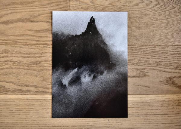 black and white photo print