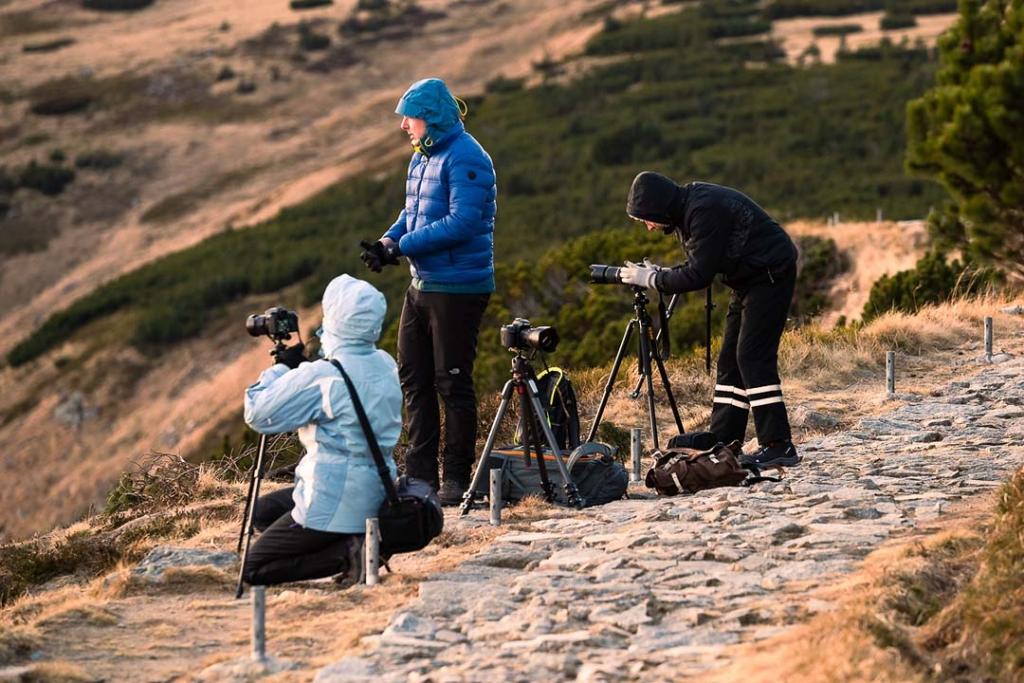 Fotografowie krajobrazu w Karkonoszach